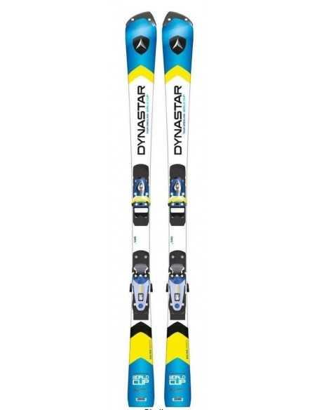 Esquis Ski Dynastar Team Omeglass WC R20 PRO DACAX01 mas fixaciones LOOK Nova TEAM 7 FC0A034