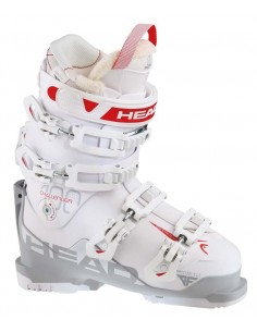Botas de esqui Ski Boots HEAD CHALLENGER 100 W WHITE/GRAY-RED 605063