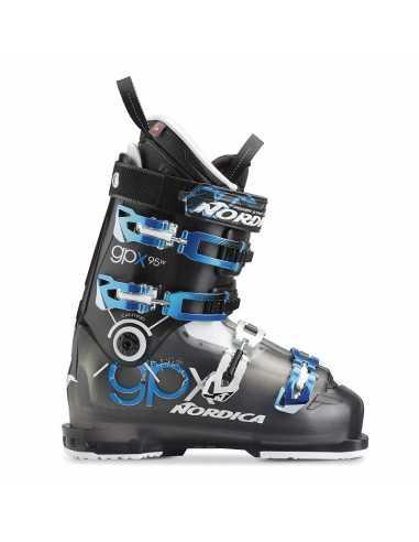 Botas esqui Nordica GPX 95 W NEGRO/TR. AZUL 050F2600 271
