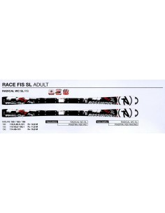 Esquis SKI ROSSIGNOL RADICAL WC SL FIS R20 RACAW03 MAS FIJACIONES AXL2 WC150 MFX RC1A002