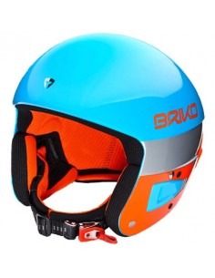 CASCO BRIKO VULCANO FIS 6.8 A56 LIGHT BLUE-FLUO ORANGE