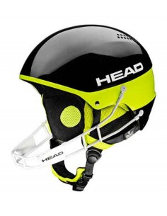 Head  Stivot SL + Chinguard blac temp. 15-16