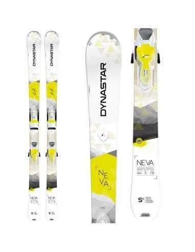 Esquis Dynastar Neva 78 Xpress DADV202 mas fijaciones FCCA040